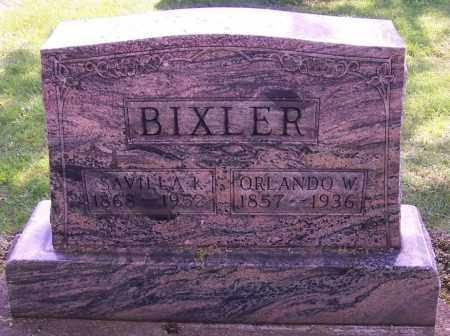 BIXLER, SAVILLA K. - Stark County, Ohio | SAVILLA K. BIXLER - Ohio Gravestone Photos