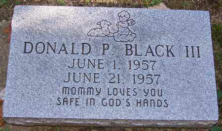 BLACK, DONALD III - Stark County, Ohio | DONALD III BLACK - Ohio Gravestone Photos
