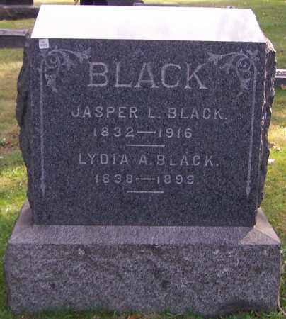 BLACK, JASPER L. - Stark County, Ohio | JASPER L. BLACK - Ohio Gravestone Photos