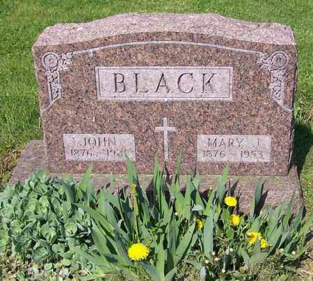 BLACK, JOHN - Stark County, Ohio | JOHN BLACK - Ohio Gravestone Photos
