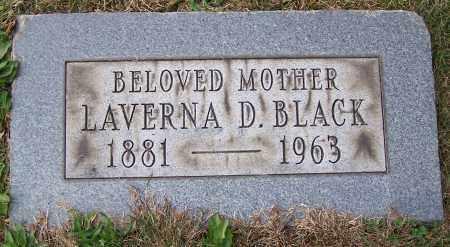 BLACK, LAVERNA D. - Stark County, Ohio | LAVERNA D. BLACK - Ohio Gravestone Photos