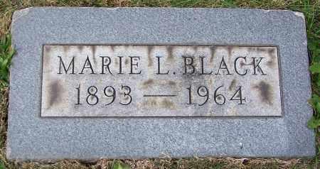 BLACK, MARIE L. - Stark County, Ohio | MARIE L. BLACK - Ohio Gravestone Photos