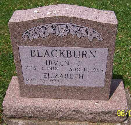 BLACKBURN, IRVEN J. - Stark County, Ohio | IRVEN J. BLACKBURN - Ohio Gravestone Photos