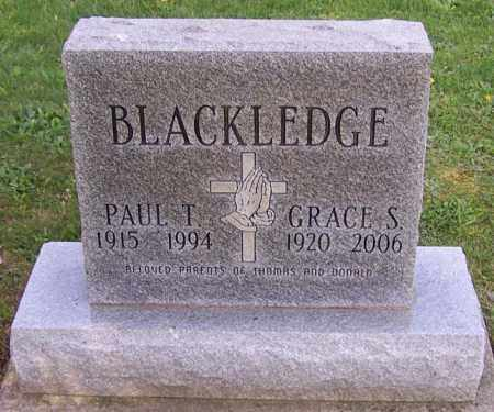 BLACKLEDGE, GRACE S. - Stark County, Ohio | GRACE S. BLACKLEDGE - Ohio Gravestone Photos