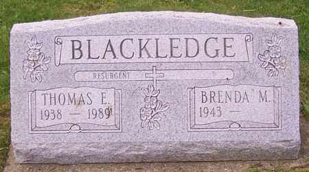 BLACKLEDGE, THOMAS E. - Stark County, Ohio | THOMAS E. BLACKLEDGE - Ohio Gravestone Photos