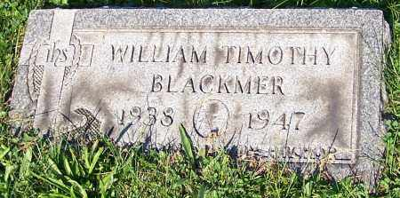 BLACKMER, WILLIAM TIMOTHY - Stark County, Ohio | WILLIAM TIMOTHY BLACKMER - Ohio Gravestone Photos