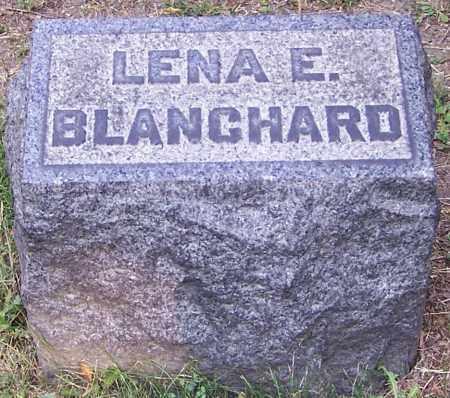 BLANCHARD, LENA E. - Stark County, Ohio | LENA E. BLANCHARD - Ohio Gravestone Photos