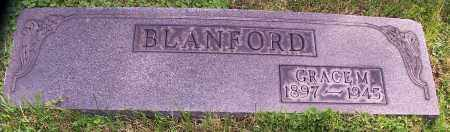 BLANFORD, GRACE M. - Stark County, Ohio | GRACE M. BLANFORD - Ohio Gravestone Photos