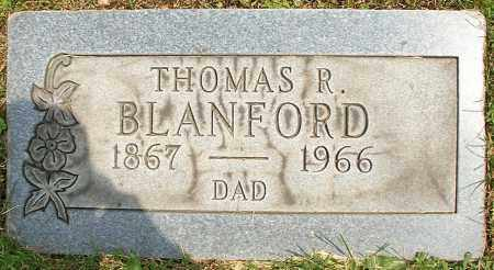 BLANFORD, THOMAS R. - Stark County, Ohio | THOMAS R. BLANFORD - Ohio Gravestone Photos