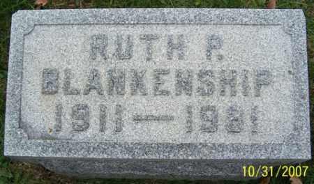 BLANKENSHIP, RUTH P. - Stark County, Ohio | RUTH P. BLANKENSHIP - Ohio Gravestone Photos