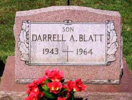 BLATT, DARRELL A. - Stark County, Ohio | DARRELL A. BLATT - Ohio Gravestone Photos