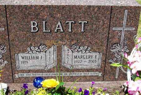 BLATT, WILLIAM F. - Stark County, Ohio | WILLIAM F. BLATT - Ohio Gravestone Photos