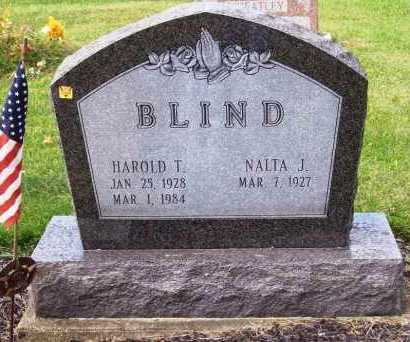 BLIND, HAROLD T. - Stark County, Ohio | HAROLD T. BLIND - Ohio Gravestone Photos