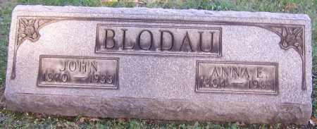 BLODAU, ANNA E. - Stark County, Ohio | ANNA E. BLODAU - Ohio Gravestone Photos