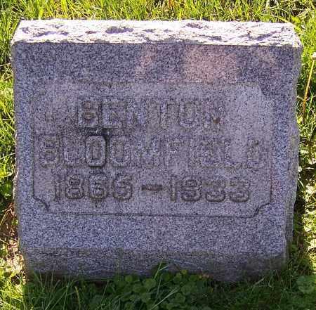 BLOOMFIELD, BENTON - Stark County, Ohio | BENTON BLOOMFIELD - Ohio Gravestone Photos