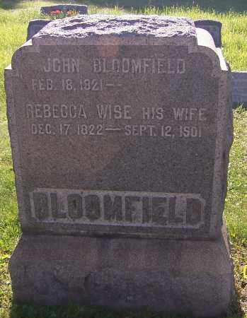 BLOOMFIELD, JOHN - Stark County, Ohio | JOHN BLOOMFIELD - Ohio Gravestone Photos
