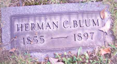 BLUM, HERMAN C. - Stark County, Ohio | HERMAN C. BLUM - Ohio Gravestone Photos