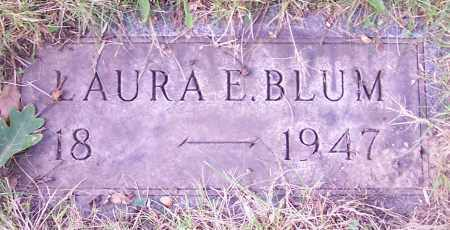 BLUM, LAURA E. - Stark County, Ohio | LAURA E. BLUM - Ohio Gravestone Photos
