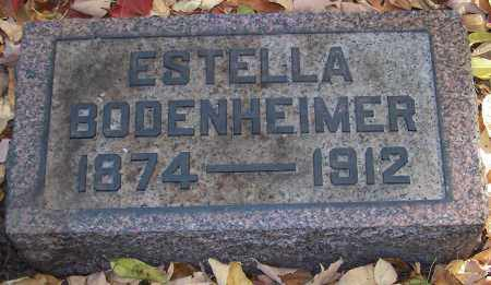 BODENHEIMER, ESTELLA - Stark County, Ohio | ESTELLA BODENHEIMER - Ohio Gravestone Photos