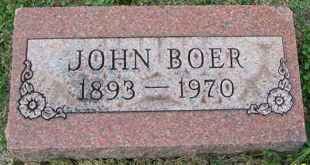 BOER, JOHN - Stark County, Ohio | JOHN BOER - Ohio Gravestone Photos