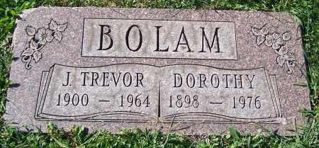 BOLAM, J.TREVOR - Stark County, Ohio | J.TREVOR BOLAM - Ohio Gravestone Photos