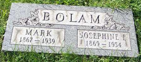 BOLAM, JOSEPHINE E. - Stark County, Ohio | JOSEPHINE E. BOLAM - Ohio Gravestone Photos