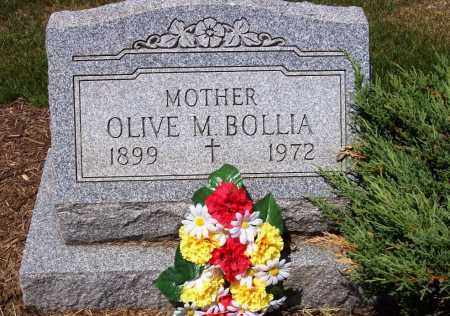 BOLLIA, OLIVE M. - Stark County, Ohio | OLIVE M. BOLLIA - Ohio Gravestone Photos