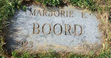 BOORD, MARJORIE E. - Stark County, Ohio | MARJORIE E. BOORD - Ohio Gravestone Photos