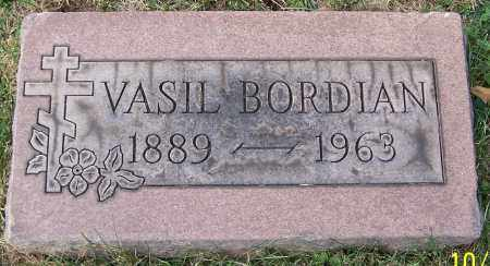 BORDIAN, VASIL - Stark County, Ohio | VASIL BORDIAN - Ohio Gravestone Photos