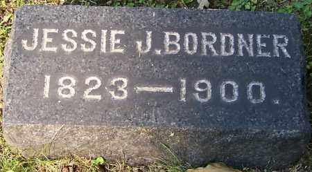 BORDNER, JESSIE J. - Stark County, Ohio | JESSIE J. BORDNER - Ohio Gravestone Photos