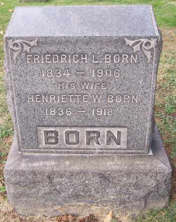 BORN, FRIEDRICH - Stark County, Ohio | FRIEDRICH BORN - Ohio Gravestone Photos