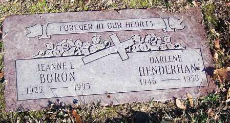 HENDERHAN, DARLENE - Stark County, Ohio | DARLENE HENDERHAN - Ohio Gravestone Photos