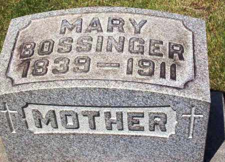 HAGER BOSSINGER, MARY - Stark County, Ohio | MARY HAGER BOSSINGER - Ohio Gravestone Photos