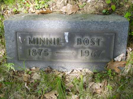 BOST, MINNIE - Stark County, Ohio | MINNIE BOST - Ohio Gravestone Photos