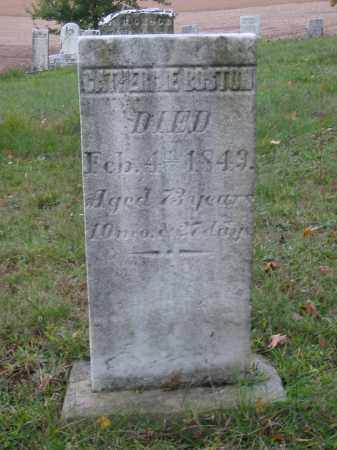 BOSTON, CATHERINE - Stark County, Ohio | CATHERINE BOSTON - Ohio Gravestone Photos