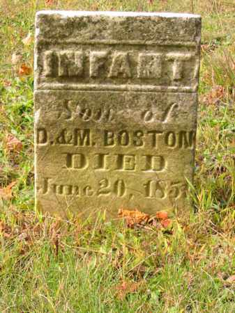 BOSTON, INFANT SON - Stark County, Ohio | INFANT SON BOSTON - Ohio Gravestone Photos