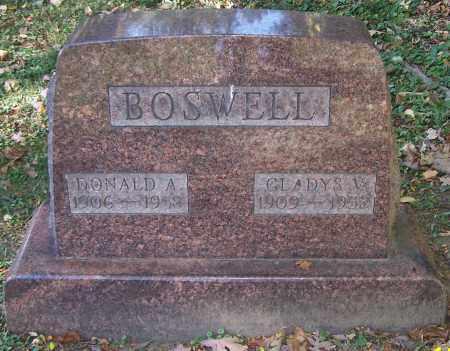 BOSWELL, GLADYS V. - Stark County, Ohio | GLADYS V. BOSWELL - Ohio Gravestone Photos