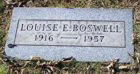 BOSWELL, LOUISE E. - Stark County, Ohio | LOUISE E. BOSWELL - Ohio Gravestone Photos