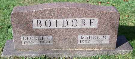 BOTDORF, GEORGE C. - Stark County, Ohio | GEORGE C. BOTDORF - Ohio Gravestone Photos