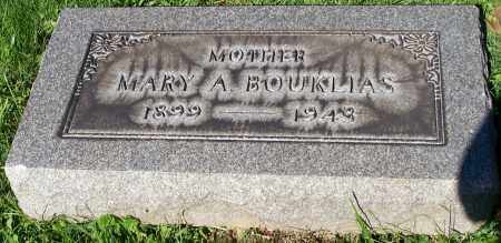 BOUKLIAS, MARY A. - Stark County, Ohio | MARY A. BOUKLIAS - Ohio Gravestone Photos