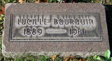 BOURQUIN, LUCILLE - Stark County, Ohio | LUCILLE BOURQUIN - Ohio Gravestone Photos