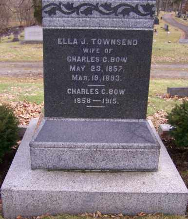 TOWNSEND BOW, ELLA J. - Stark County, Ohio | ELLA J. TOWNSEND BOW - Ohio Gravestone Photos