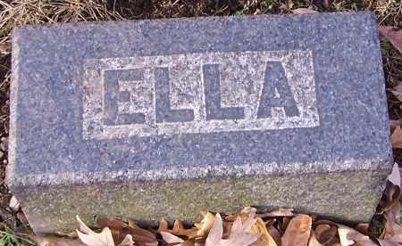 BOW, ELLA - Stark County, Ohio | ELLA BOW - Ohio Gravestone Photos