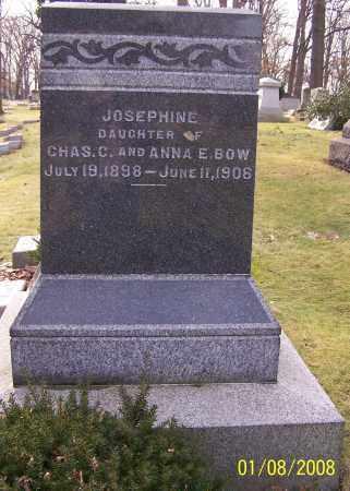 BOW, JOSEPHINE - Stark County, Ohio | JOSEPHINE BOW - Ohio Gravestone Photos