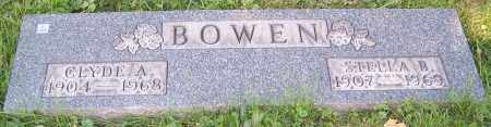 BOWEN, CLYDE A. - Stark County, Ohio | CLYDE A. BOWEN - Ohio Gravestone Photos
