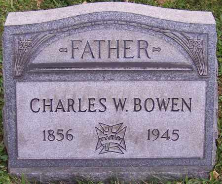 BOWEN, CHARLES W. - Stark County, Ohio | CHARLES W. BOWEN - Ohio Gravestone Photos