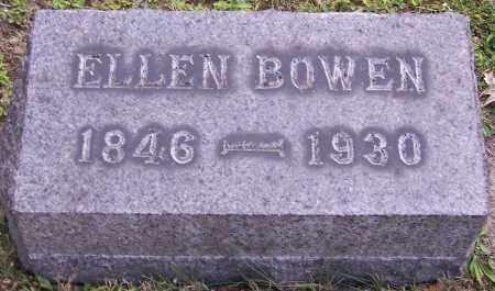 BOWEN, ELLEN - Stark County, Ohio | ELLEN BOWEN - Ohio Gravestone Photos