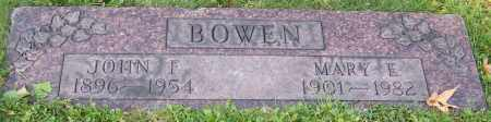 BOWEN, MARY E. - Stark County, Ohio | MARY E. BOWEN - Ohio Gravestone Photos