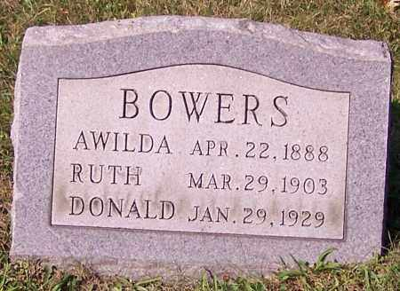 BOWERS, RUTH - Stark County, Ohio | RUTH BOWERS - Ohio Gravestone Photos