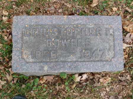 BOWERS, CHRISTOPHER - Stark County, Ohio | CHRISTOPHER BOWERS - Ohio Gravestone Photos